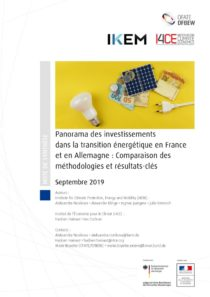 thumbnail of IKEM_I4CE_OFATE_Panorama_investissements_transition_energetique_France-Allemagne